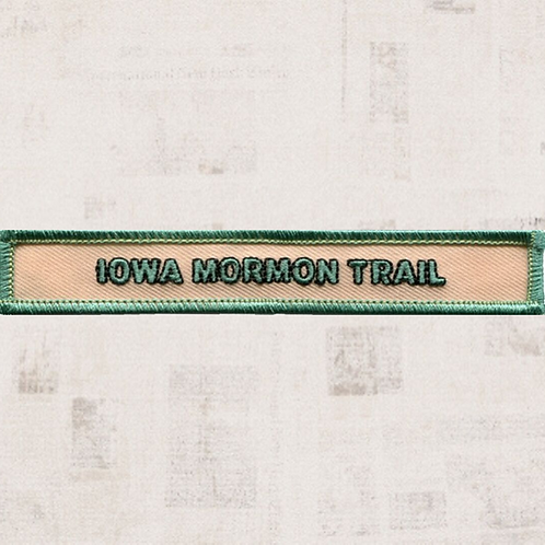 Iowa Mormon Trail Segment Patch (February-June 1846) - CC-1005