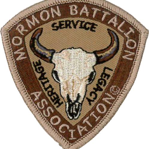 Mormon Battalion Logo Patch - CC-1015