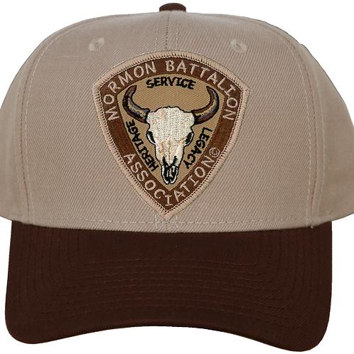 Mormon Battalion Logo Baseball Hat CC-1014