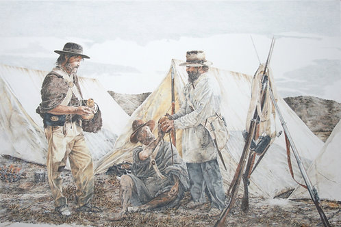 """Battalion End of Trail"" by Mark Stewart - MS-02"