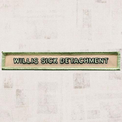 Willis Sick Detachment Segment Patch (10 November-mid-January 1847)  - C1009