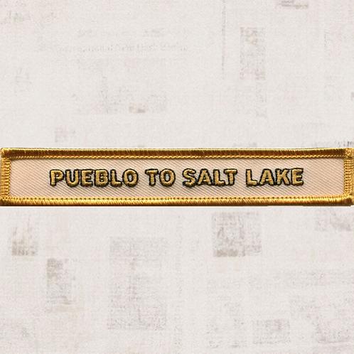 Pueblo to Salt Lake Segment Patch (May-August 1847) - C1011