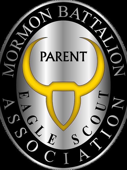 Mormon Battalion Eagle Scout Parent Pin (SA-61893)