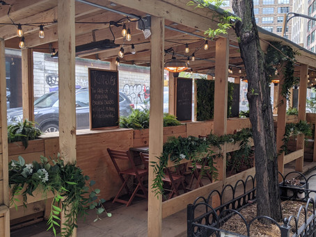 Tackling Climate Change through those COVID-19 Outdoor Dining Structures