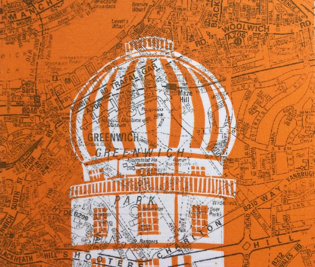 A-Z Greenwich Observatory (orange