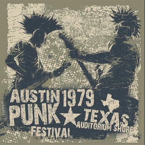 Austin Punk Fest - Unisex Tee