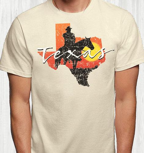 Texas Cowboy Silhouette