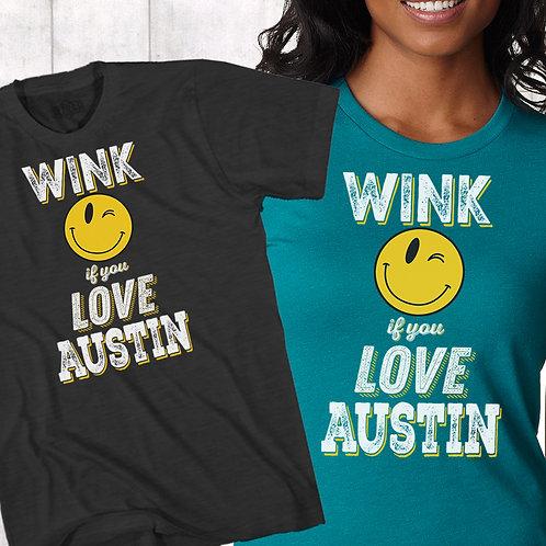 Austin Wink - Ladies and Unisex Tee