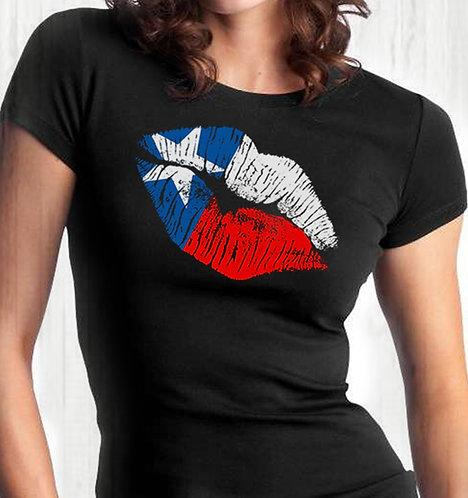 Texas Kiss - Ladies Tee