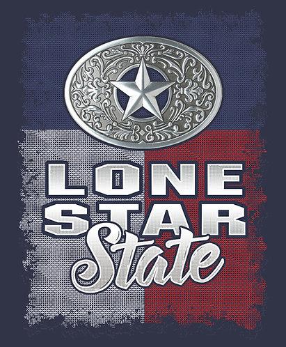Lone Star Buckle - Unisex Tee