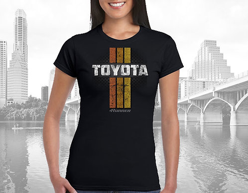 Womens Toyota 4Runner Thowback Tee