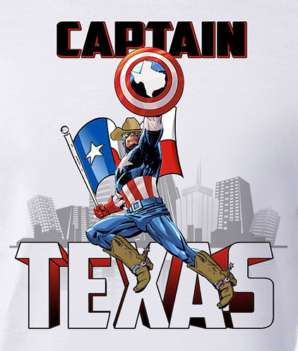 Captain Texas - Unisex Tee