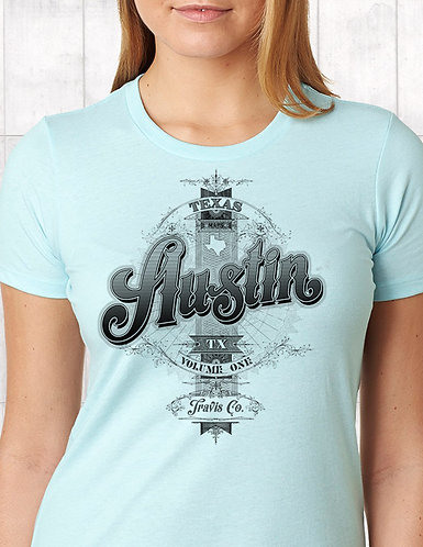 Austin Volume One - Unisex and Ladies Tee