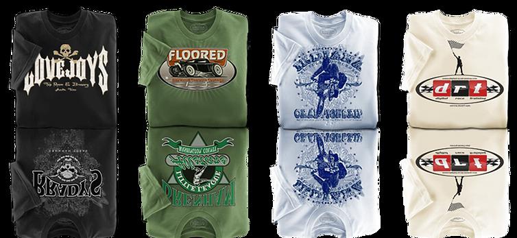 folded t shirt mockups Austin