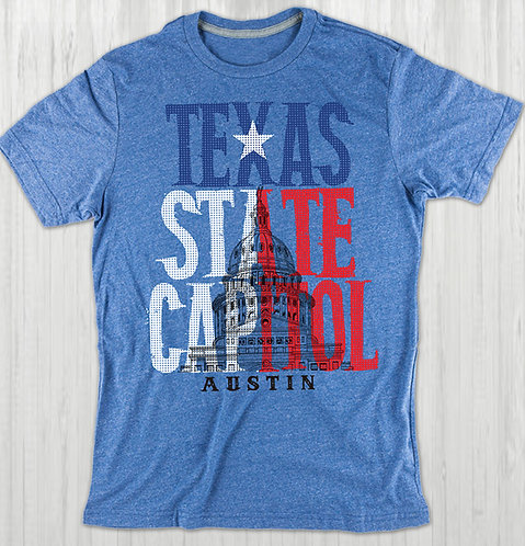 Texas State Capitol - Unisex Tee