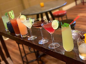 Drinks featured at Red on Main