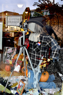 "Scarecrow Display ""Best on Brand"" winner"