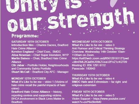 Hate Crime Awareness Week in Bradford