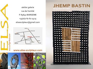 Elsa sculpteur invite Jhemp Bastin