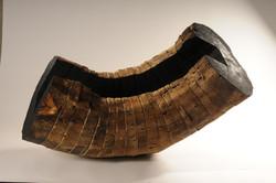sans titre, robinier, 50/90/47 cm