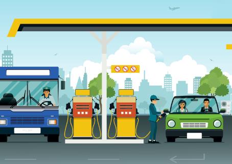 Qual o custo para vender um litro de combustíveis?