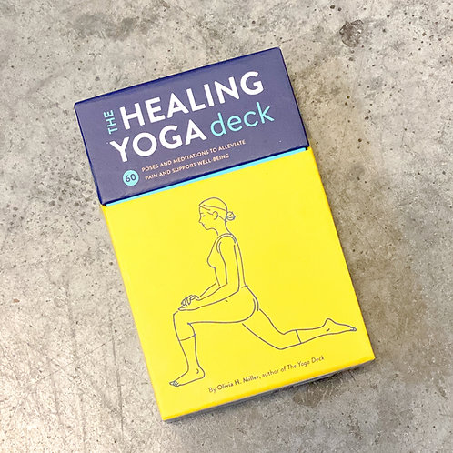 The Healing Yoga Deck 60 Poses And Meditations