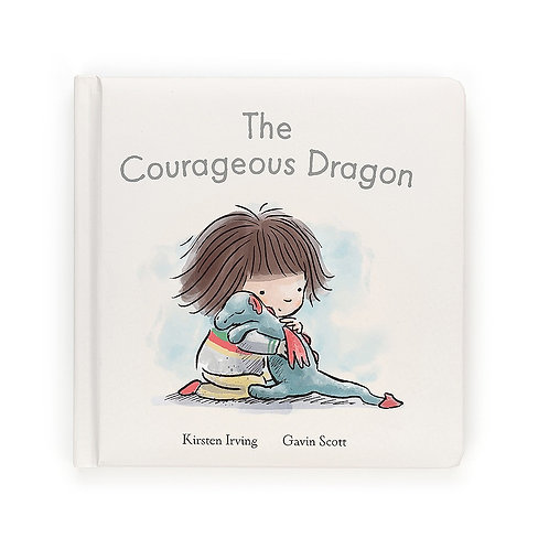 Jelly Cat - The Courageous Dragon Book