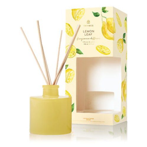 Thymes - Lemon Leaf Reed Diffuser