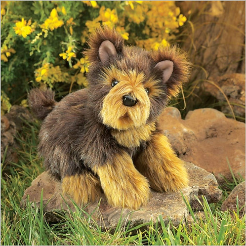 Folkmanis - Yorkie Pup Puppet