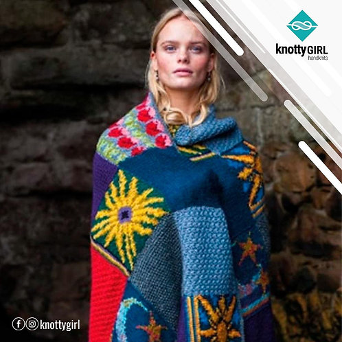 Knotty Girl - Bo Peep Afghan Blanket