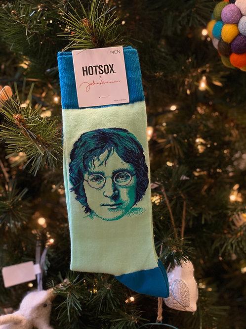 Hot Sox - John Lennon Portrait Crew Socks