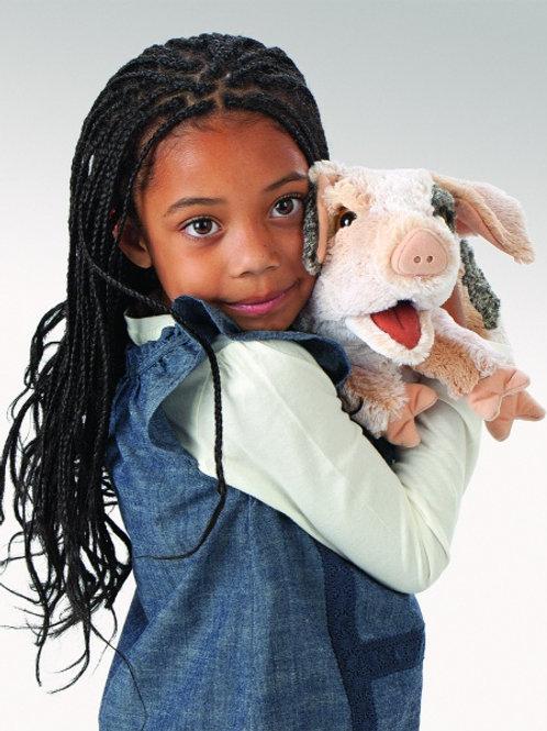 Folkmanis - Grunting Pig Puppet