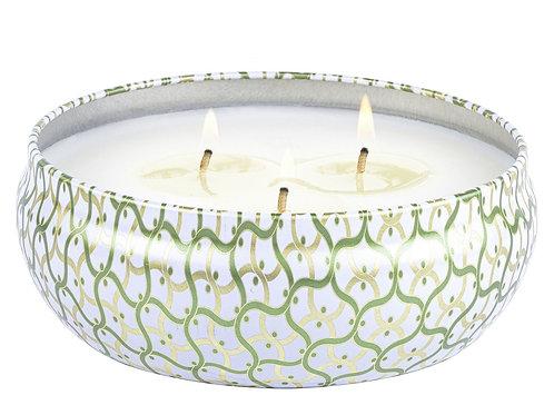 Voluspa Candle - Moroccan Mint Tea 3 Wick Tin Candle