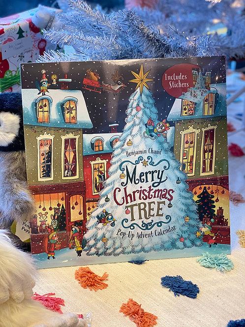 Merry Christmas Tree Pop-Up Advent Calendar