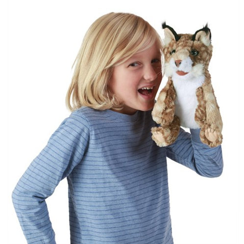 Folkmanis - Bobcat Kitten Puppet