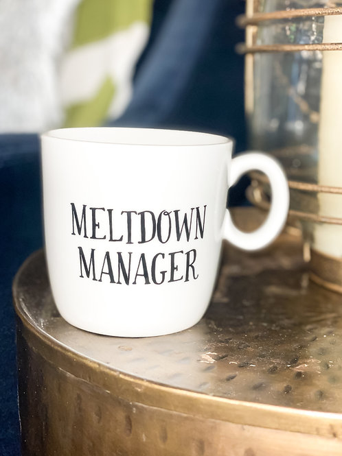 Meltdown Manager Mug