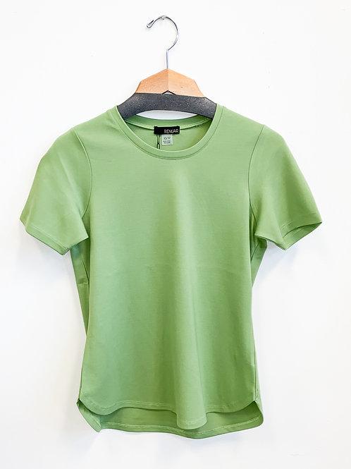 Renuar - Bring Back the Basic Tee in Green