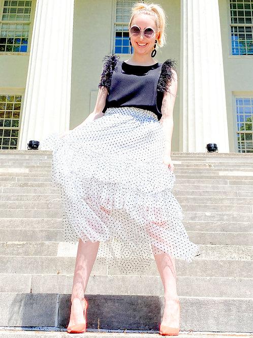 Eva Franco - Reyne Skirt w/ Macarron Dot