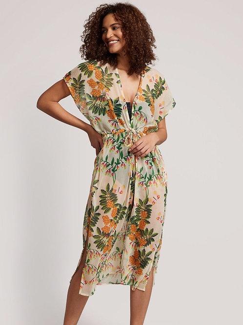 Bluebell Vines Open Front Midi Dress