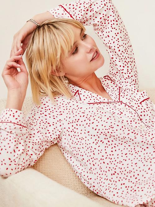 Confetti Dot Pima Knit Pajama