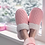 Thumbnail: Creekside Slide Slippers | Cable Knit Blush
