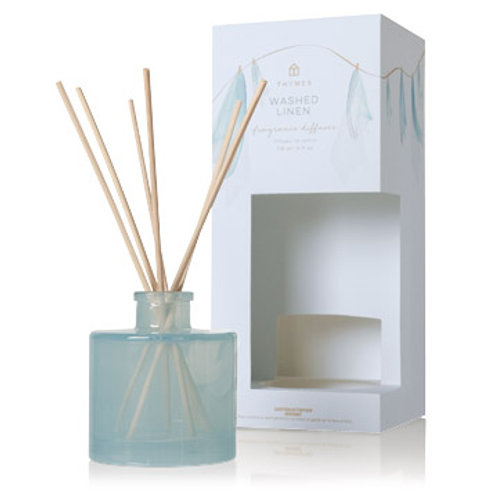 Thymes - Washed Linen Reed Diffuser
