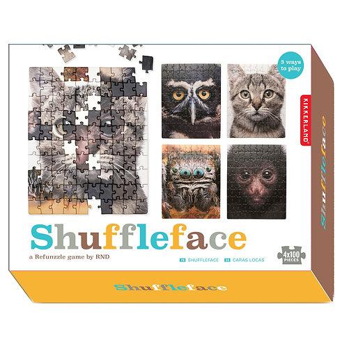 Shuffleface: Puzzle Game 100pcs