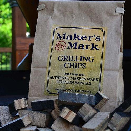 Maker's Mark - Authentic Barrel Grilling Chips