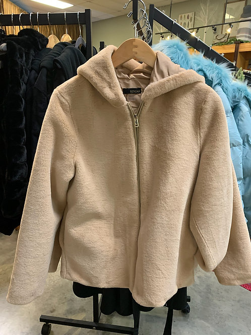Renuar Fleece Jacket - Almond