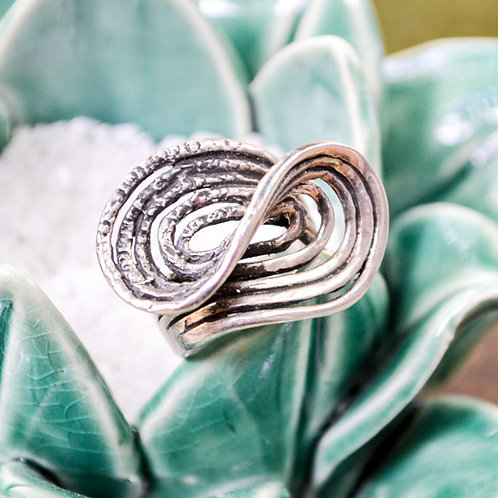 Sterling Silver Ring Wrap