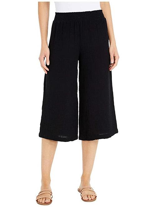 Bobi - Wide Leg Beach Pants in Gauze