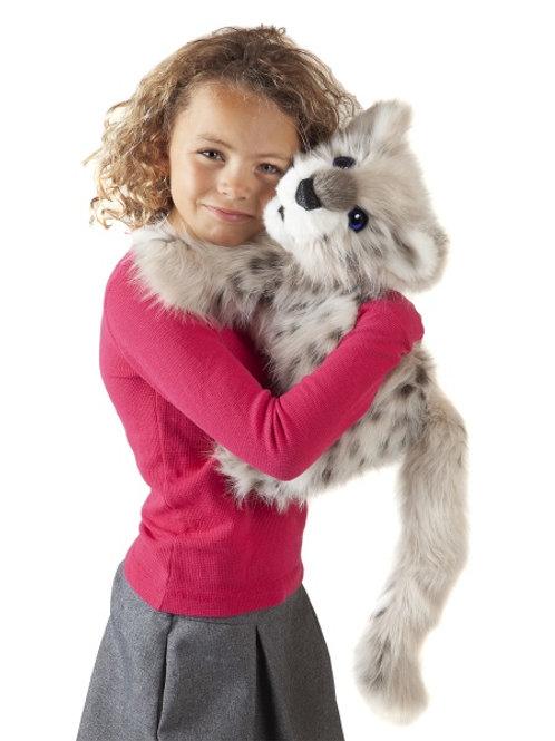 Folkmanis - Snow Leopard Cub Puppet