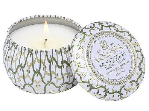 Voluspa Candle - Moroccan Mint Tea Mini Tin Candle
