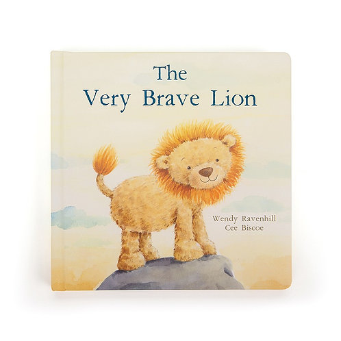 Jelly Cat - The Very Brave Lion Book